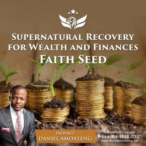 Supernatural Recovery for Wealth and Finances