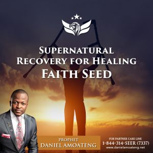 Supernatural Recovery for Healing