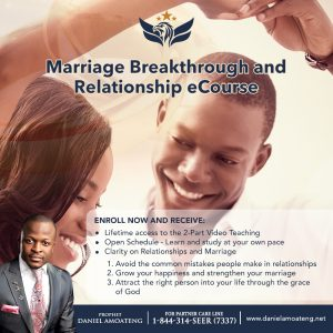 Marriage Breakthrough and Relationship